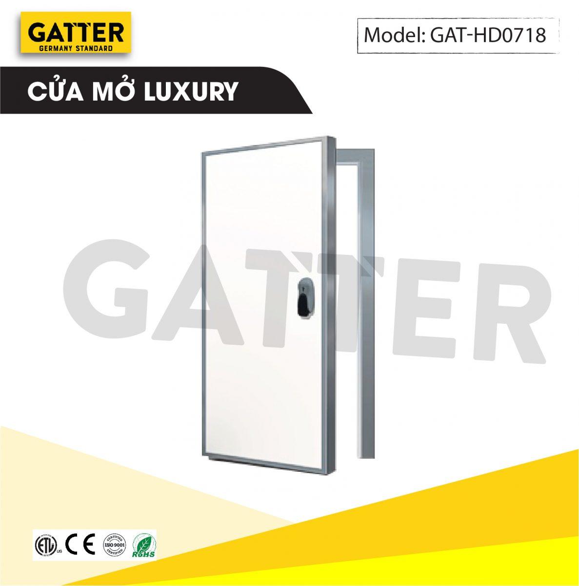 Cửa mở kho lạnh cao cấp Luxury GAT-HD/0718