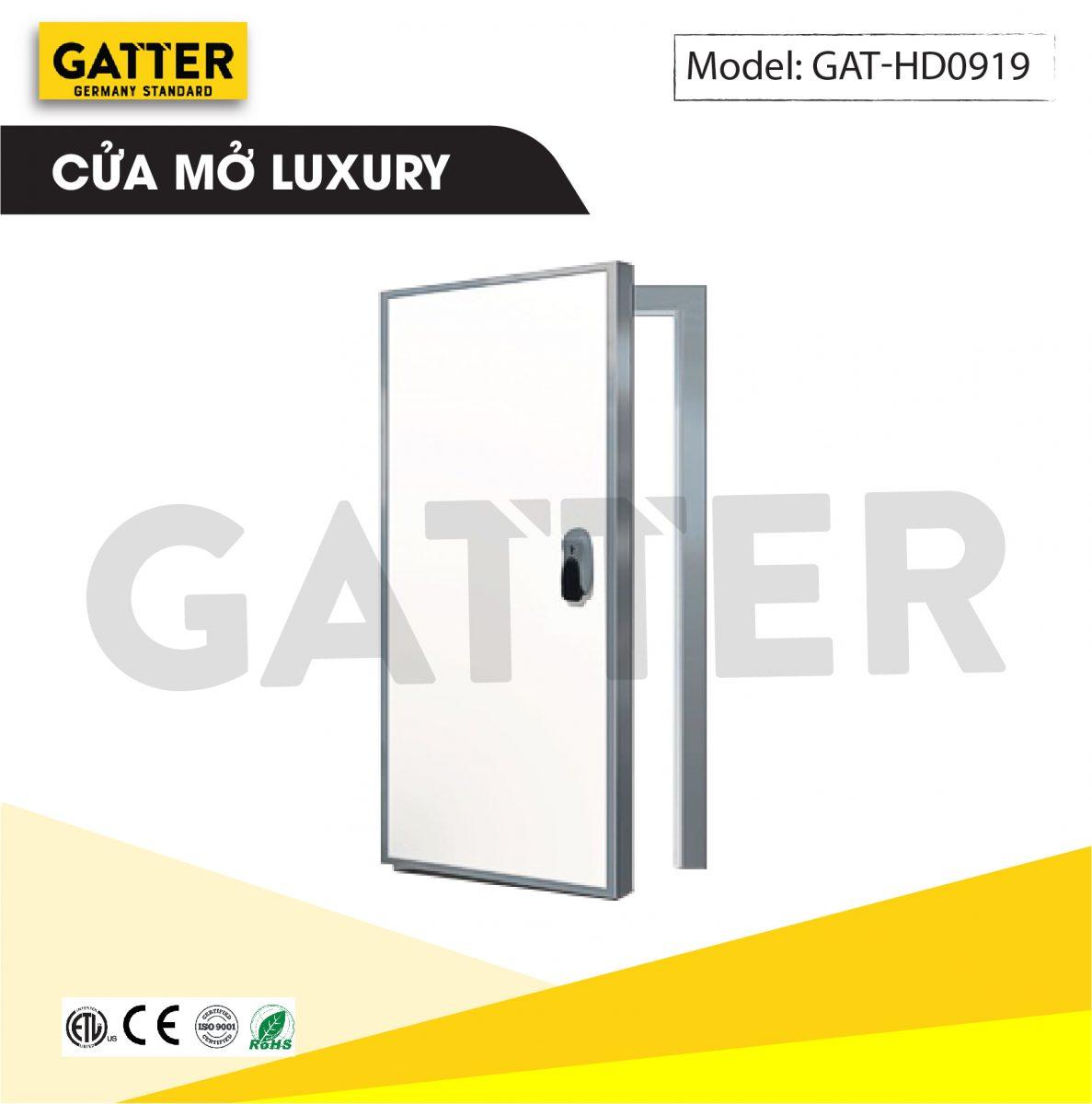 Cửa mở kho lạnh cao cấp Luxury GAT-HD/0919