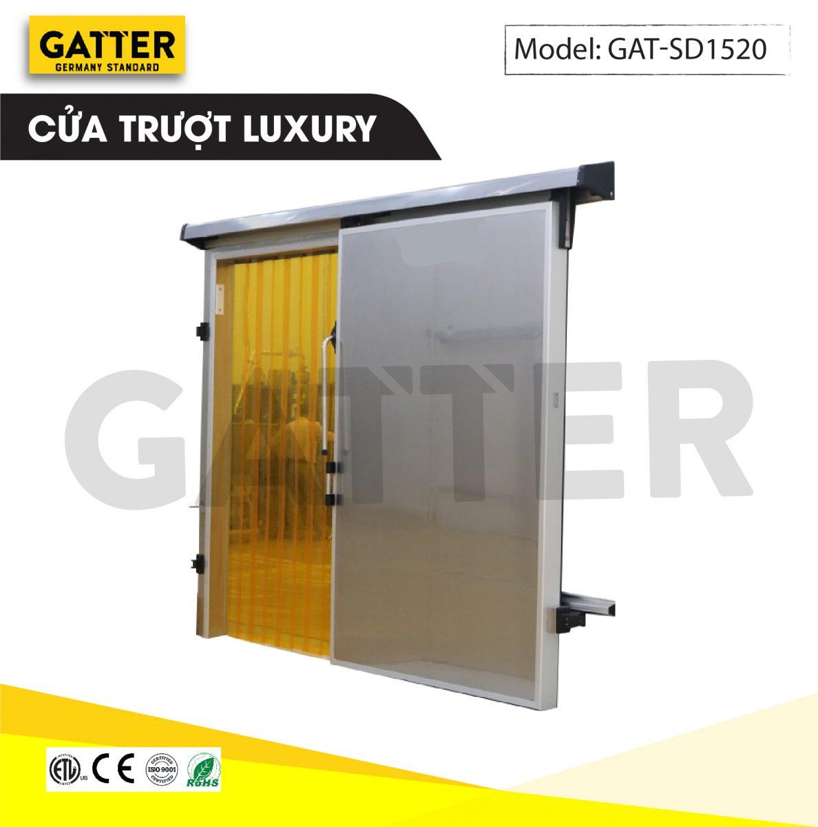 Cửa trượt kho lạnh cao cấp Luxury GAT-SD/1520