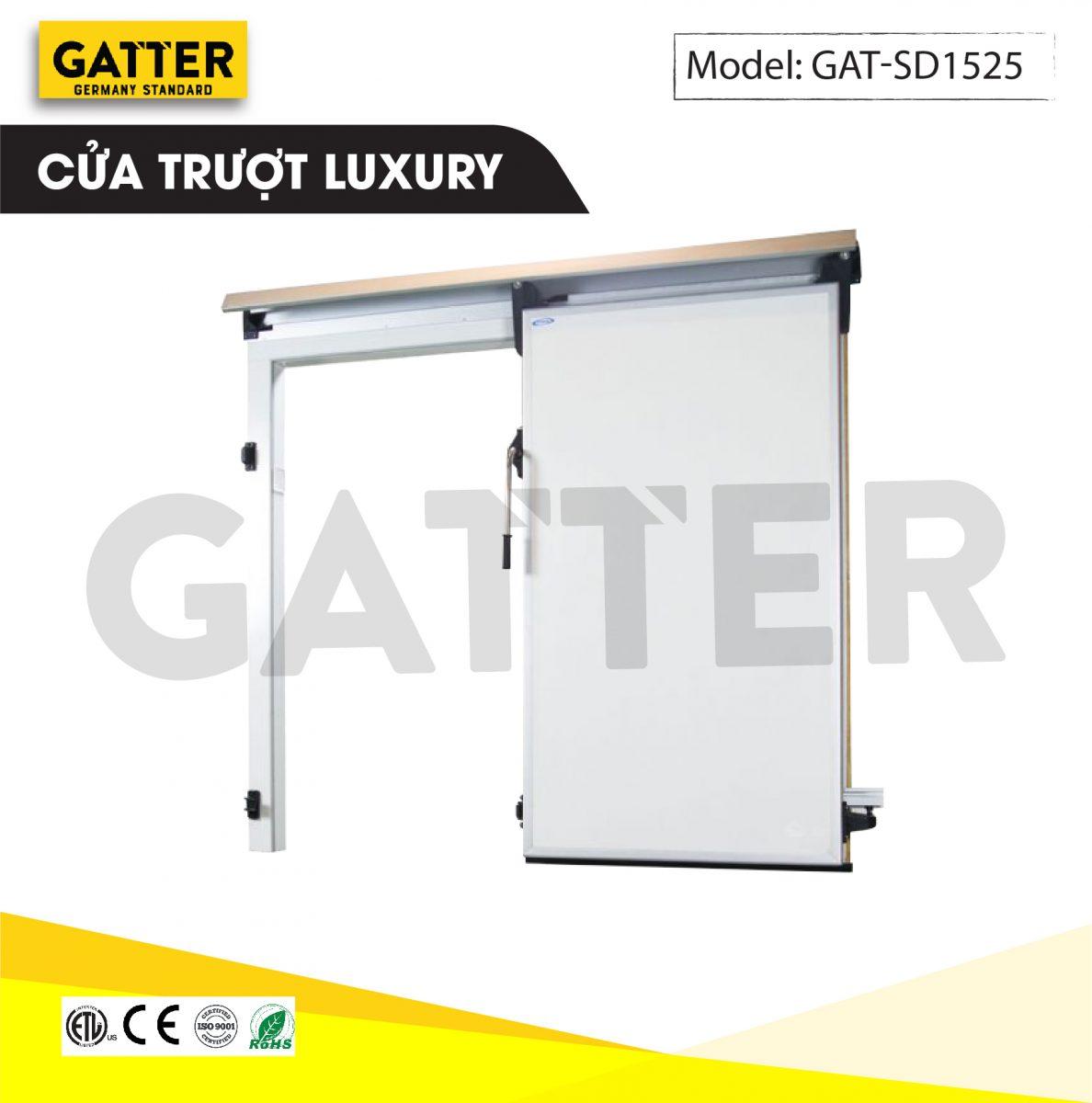 Cửa trượt kho lạnh cao cấp Luxury GAT-SD/1525