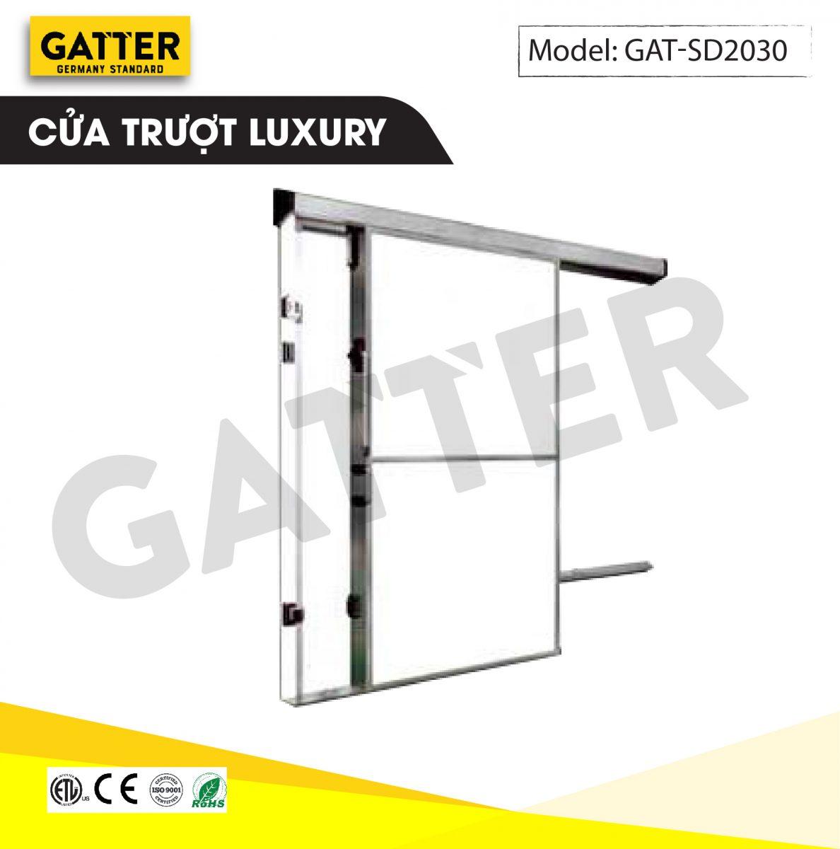 Cửa trượt kho lạnh cao cấp Luxury GAT-SD/2030