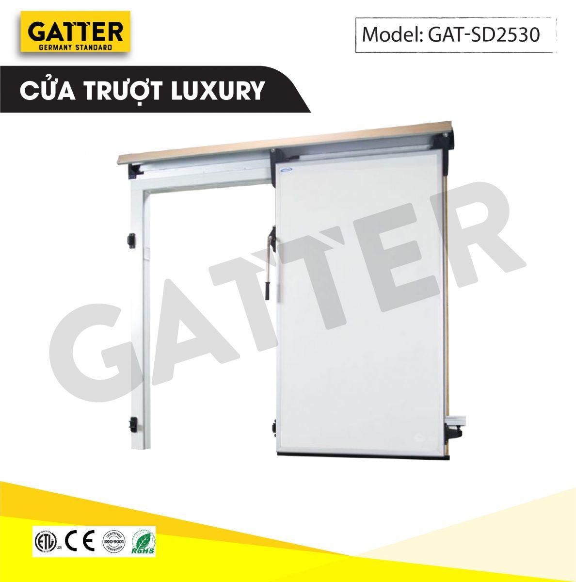 Cửa trượt kho lạnh cao cấp Luxury GAT-SD/2530